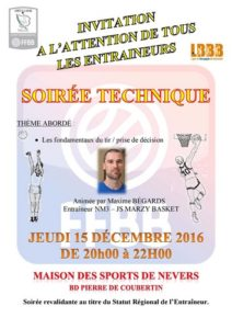 SOIREE TECHNIQUECD 58 15 DECEMBRE 2016
